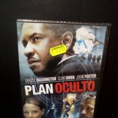 Cine: PLAN OCULTO DVD. Lote 142757954
