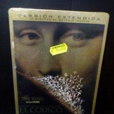 Cine: EL CÓDIGO DA VINCI -CAJA METÁLICA DVD. Lote 142759202