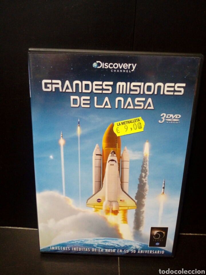 GRANDES MISIONES DE LA NASA DVD (Cine - Películas - DVD)