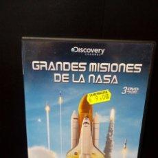 Cine: GRANDES MISIONES DE LA NASA DVD. Lote 142759888