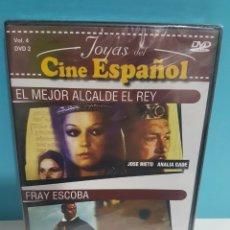 Cine: EL MEJOR ALCALDE EL REY + FRAY ESCOBA DVD -PRECINTADO-. Lote 142762253