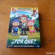 Cine: 5 - DVD - DIME POR QUE - PREGUNTAS Y RESPUESTAS A TUS HIJOS DE 3 A 9 AÑOS. Lote 142817270