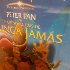 Cine: CDS1//REGRESO AL PAÍS DE NUNCA JAMAS;PETER PAN. Lote 142821972