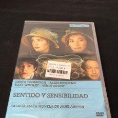 Cine: ( A21 ) SENTIDO Y SENSIBILIDAD - EMMA THOMPSON ( DVD NUEVO PRECINTADO ). Lote 142848060