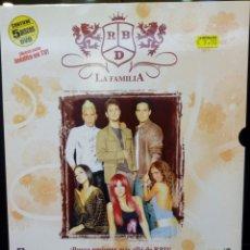 Cinema: RBD LA FAMILIA DVD. Lote 236509705