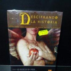 Cine: DESCIFRANDO LA HISTORIA DVD. Lote 142951849