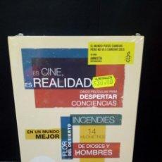 Cine: ES CINE ES REALIDAD -50 AÑOS DE AMNISTÍA INTERNACIONAL DVD. Lote 142952217