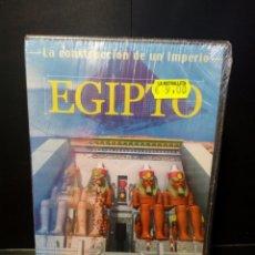 Cine: LA CONSTRUCCIÓN DE UN IMPERIO EGIPTO DVD. Lote 142952864