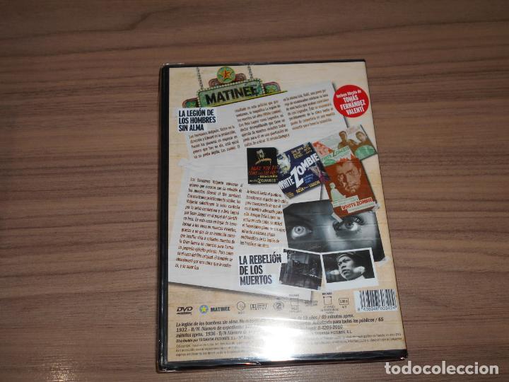 Cine: Pack DVD La LEGION de Los HOMBRES SIN ALMA + La REBELION de Los MUERTOS Nueva PRECINTADA - Foto 2 - 180924020