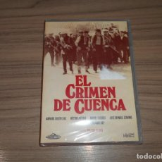 Cine: EL CRIMEN DE CUENCA DVD DE PILAR MIRO FERNANDO REY NUEVA PRECINTADA. Lote 148247322