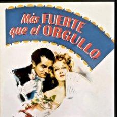 Cine: MÁS FUERTE QUE EL ORGULLO. GREER GARSON. LAURENCE OLIVIER. JANE AUSTEN.. Lote 143155214
