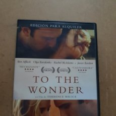 Cine: (V76) TO THE WONDER - DVD PROCEDENTE DE VIDEOCLUB. Lote 143228316