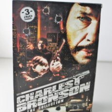 Cine: CHARLES BRONSON THE COLLECTION. ESTUCHE CON TRES DVD´S. Lote 143228906