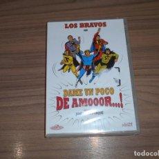 Cine: DAME UN POCO DE AMOR DVD LOS BRAVOS NUEVA PRECINTADA. Lote 213729701