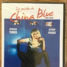 Cine: LA PASIÓN DE CHINA BLUE - ANTHONY PERKINS - KATHLEEN TURNER DVD ( PRECINTADO ). Lote 143281694