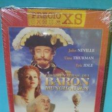 Cine: LAS AVENTURAS DEL BARON MUNCHAUSEN DVD -PRECINTADO-. Lote 143323781