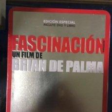 Cine: FASCINACION (NUEVA Y PRECINTADA EN CAJA METALICA CON LIBRO). Lote 143329154