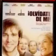 Cine: OLVIDATE DE MI DVD. MICHEL GONDRY, KAUFMAN, CARREY, WINSLEY, DUNST. Lote 143333905