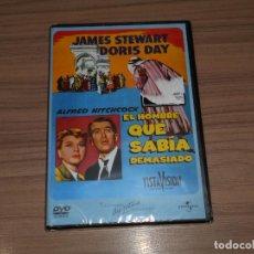 Cine - el HOMBRE QUE SABIA DEMASIADO DVD James Stewart NUEVA PRECINTADA - 165434184