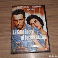 Cine: LA GATA SOBRE EL TEJADO DE ZINC DVD ELIZABETH TAYLOR PAUL NEWMAN NUEVA PRECINTADA. Lote 254489285
