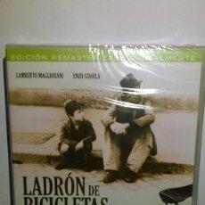 Cine: LADRON DE BICICLETAS VITTORIO DE SICA EDICION ESPECIAL DOS DISCOS NUEVA. Lote 143491650