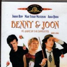 Cine: BENNY JOON DVD (JOHNNY DEEP) :...UNA EXTRAVAGANTE E INIMITABLE COMEDIA ROMÁNTICA. Lote 143496810
