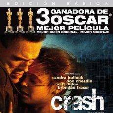 Cine: CRASH - PAUL HAGGIS. Lote 143497946
