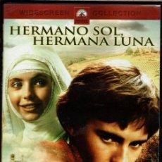 Cine: HERMANO SOL, HERMANA LUNA DVD (FRANCO ZEFFIRELLI) UNA SEMBLANZA DE LOS AÑOS JÓVENES DE SAN FRANCISCO. Lote 143500902