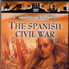 Cine: THE SPANISH CIVIL WAR DVD (EN INGLES- NO ESPAÑOL) ...UN DOCUMENTO IMPAGABLE HECHO FUERA DE ESPAÑA. Lote 143502038