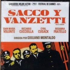Cine: SACCO Y VANZETTI DVD : UN FILM POLÉMICO, DRAMÁTICO .E IMPRESCINDIBLE...(CANTA EL TEMA: JOAN BAEZ). Lote 160658469