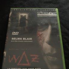 Cine: ( V79 ) WAZ - SELMA BLAIR ( DVD PROCEDENTE VIDEOCLUB ). Lote 143562602