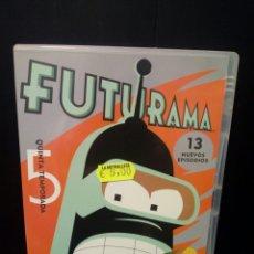 Cine: FUTURAMA DVD. Lote 143582025