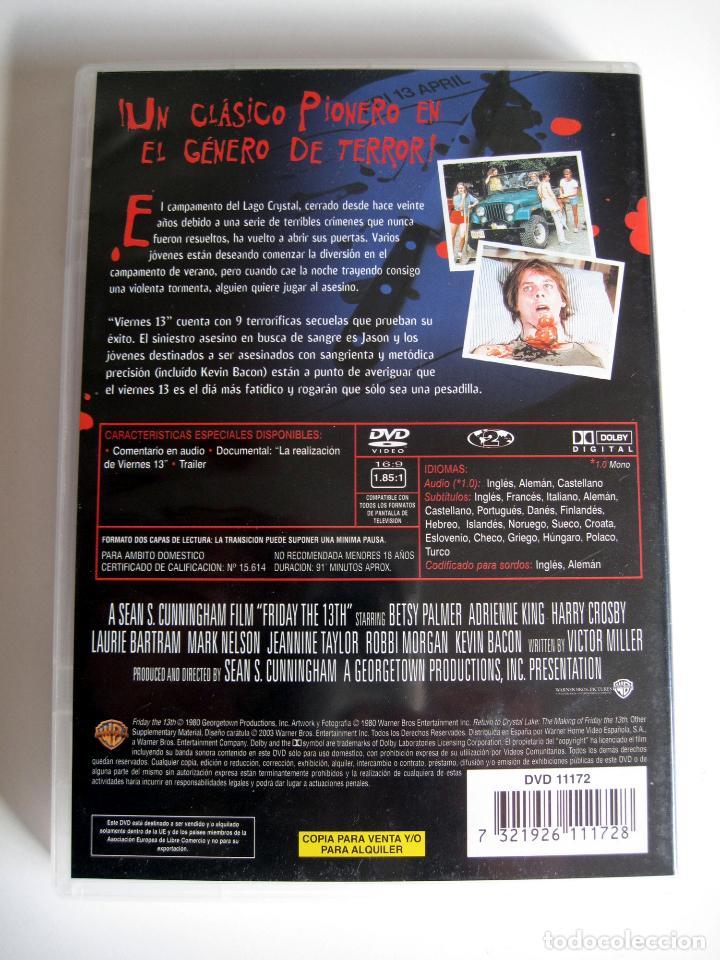 Cine: VIERNES 13 (Friday the 13th) • DVD - Foto 2 - 143599426
