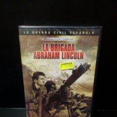 Cine: LA BRIGADA ABRAHAM LINCOLN DVD. Lote 143623110