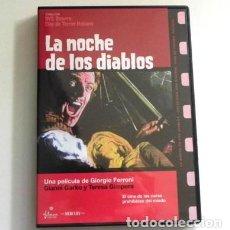 Cine: LA NOCHE DE LOS DIABLOS DVD PELÍCULA TERROR SUSPENSE - TERESA GIMPERA - GARKO FERRONI - CINE BIZARRO. Lote 143624870