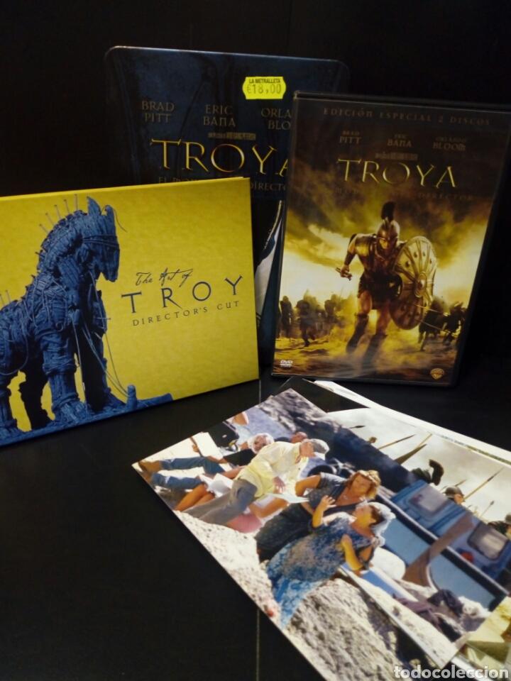 TROYA EL MONTAJE DEL DIRECTOR DVD -CAJA METÁLICA (Cine - Películas - DVD)