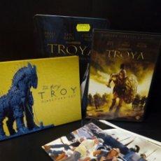 Cine: TROYA EL MONTAJE DEL DIRECTOR DVD -CAJA METÁLICA. Lote 143626552