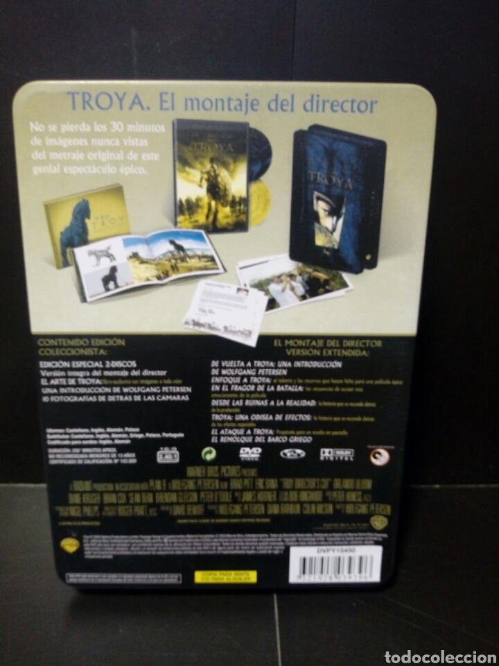 Cine: Troya el montaje del director DVD -caja metálica - Foto 2 - 143626552