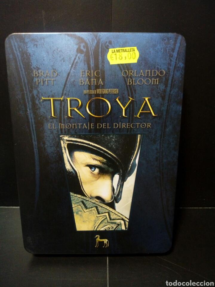 Cine: Troya el montaje del director DVD -caja metálica - Foto 3 - 143626552