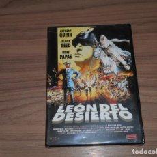Cine: EL LEON DEL DESIERTO DVD ANTHONY QUINN NUEVA PRECINTADA. Lote 143710562