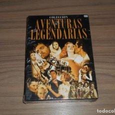 Cine: PACK AVENTURAS LEGENDARIAS 6 DVD LOS TRES MOSQUETEROS - EL TALISMAN - SCARAMOUCHE NUEVA. Lote 143710810