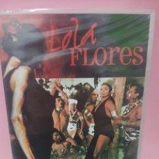 Cine: LOLA FLORES (SUEÑOS DE ORO) DVD -PRECINTADO-. Lote 143710870