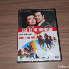 Cine: ESE ES MI HOMBRE DVD DON AMECHE CATHERINE MCLEOD NUEVA PRECINTADA. Lote 143710926