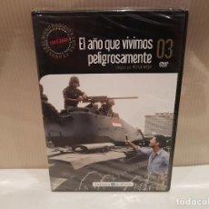 Cine: EL AÑO QUE VIVIMOS PELIGROSAMENTE EN DVD NUEVA PRECINTADA VER FOTOS. Lote 143783778