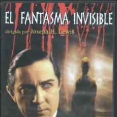 Cine: EL FANTASMA INVISIBLE, 1941. BELA LUGOSI. Lote 143815770