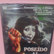 Cine: POSEÍDO AL NACER DVD -PRECINTADO-. Lote 143816678