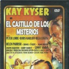 Cine: EL CASTILLO DE LOS HORRORES, 1940. P.LORRE-B.KARLOFF-B.LUGOSI. Lote 143816754