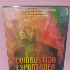 Cine: COMBUSTIÓN ESPONTÁNEA DVD -PRECINTADO-. Lote 143817293