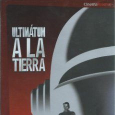 Cine: ULTIMATUM A LA TIERRA, ROBERT WISE, 1951. -2DVD. CONSERVA SOBRECUBIERTA CARTON PLATEADO-. Lote 143817454