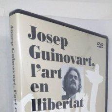 Cine: JOSEP GUINOVART, L'ART EN LLIBERTAT *** PELICULA NUEVA PRECINTADA. Lote 143825890